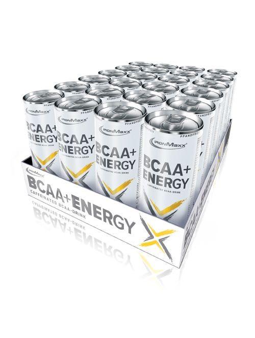 IRONMAXX® BCAA + ENERGY - TRAY (24X330ML)