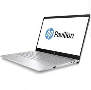 "HP Pavilion 15-ck006ng Notebook 15.6"" Full-HD IPS, i5-8250U, 8gb RAM, 128gb SSD + 1000gb HDD, GeForce MX150, beleuchtete Tastatur, Windows 10, Gewicht 1.90 kg"