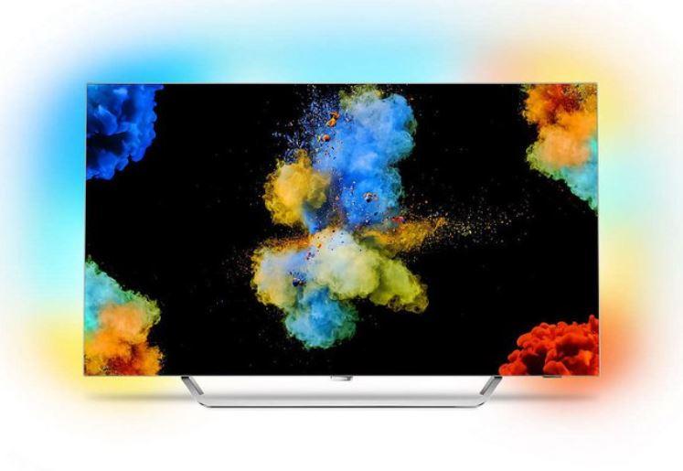 """Philips 55POS9002/12 139 cm (55"""") OLED-TV hellsilber"""