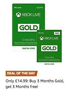 6 Monate Xbox Live Gold für 17€ (Game.co.uk)
