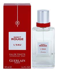 Guerlain Habit Rouge L'Eau (EdT) 50 ml für 22,54 incl.Versand bei parfum-zentrum.de
