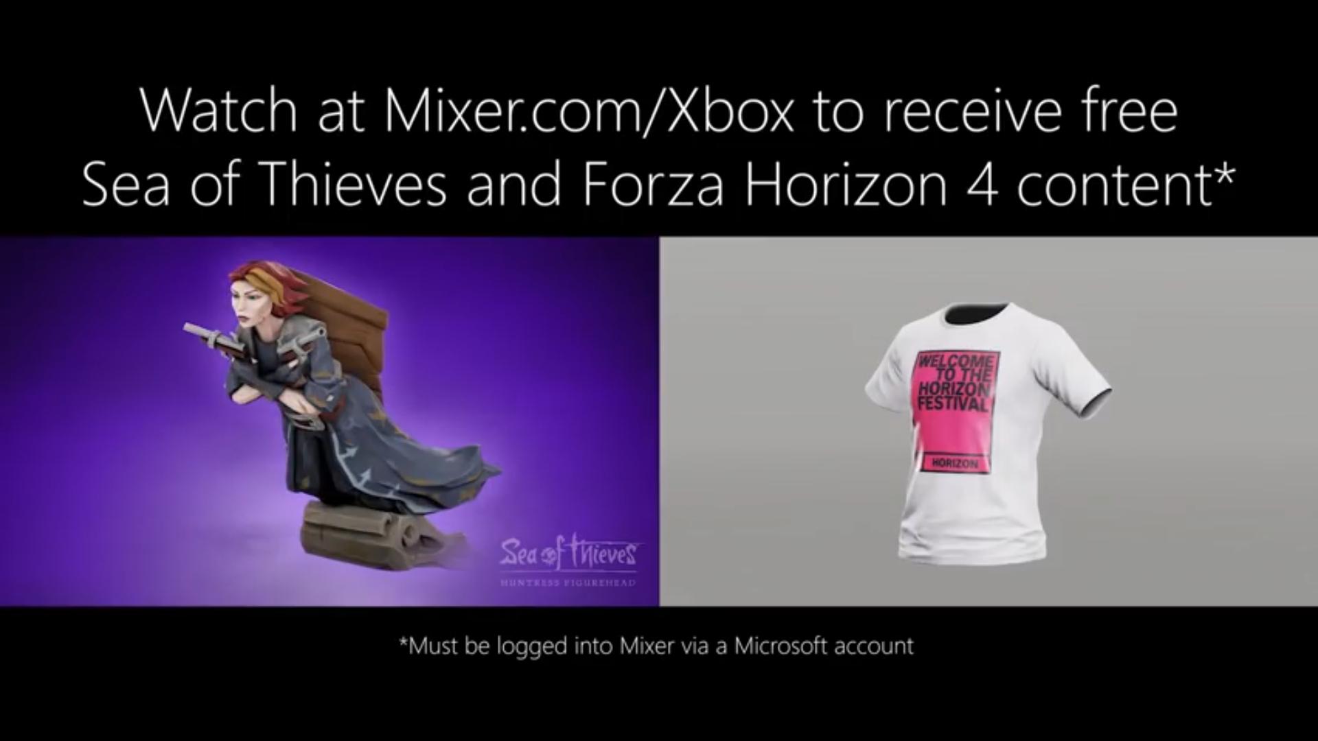 [XBOX] Kostenlose In-Game Gegenstände für Sea of Thieves und Forza Horizon 4