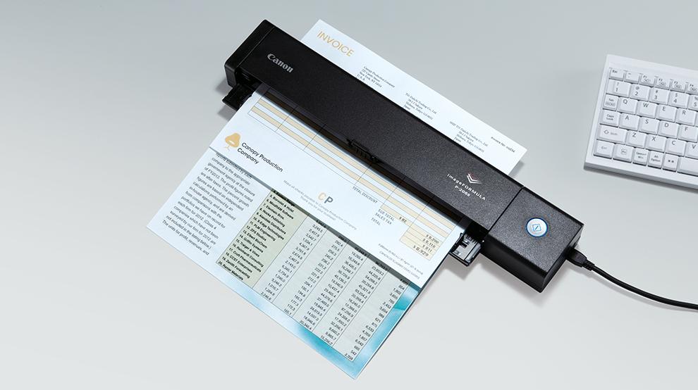[CSV.de] Canon P-208II mobiler Dokumentenscanner USB-betrieben für 79€ versandkostenfrei