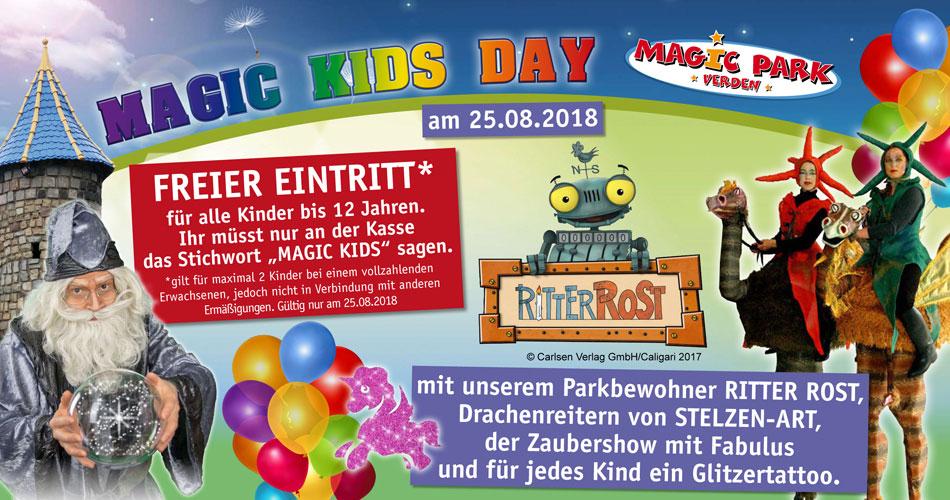 [Magic-Park Verden] - Magic Kids Day 25.08. - Freier Eintritt für zwei Kinder bis 12 Jahren