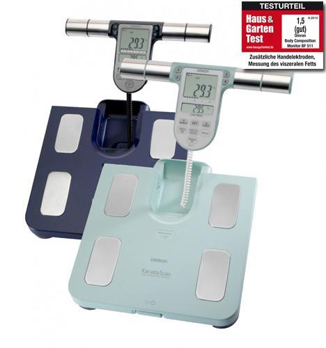 Omron BF 511 oder BF 508 Körperanalysegerät ab 49€