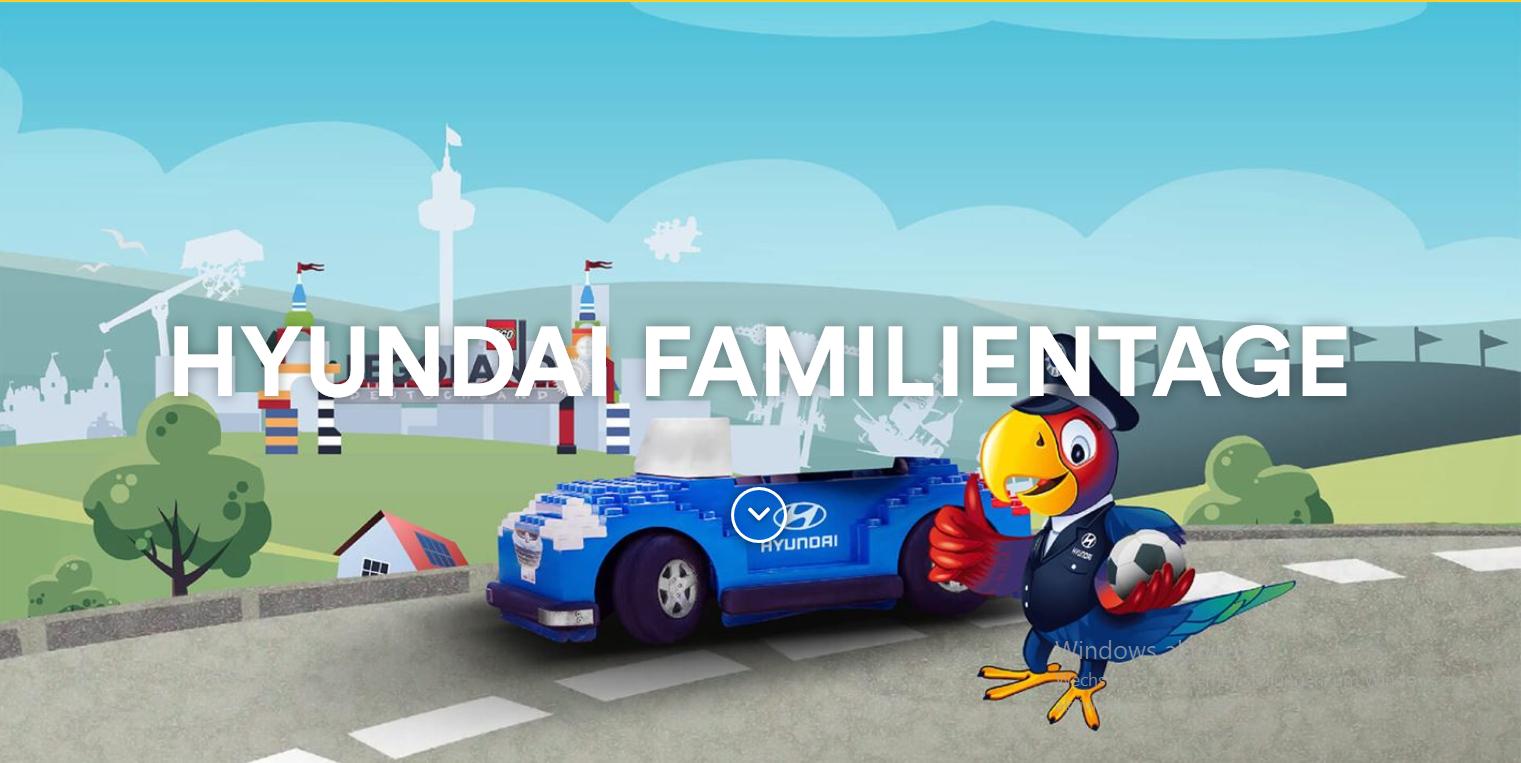 [Erinnerung] Kostenloser Eintritt ins Legoland Deutschland für Hyundai-Fahrer – nur am 29. und 30. September