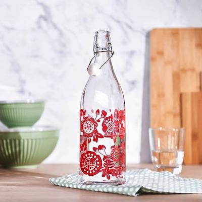 Bis zu 50% Rabatt im Summer-Sale von Depot, z.B. Flasche mit Bügelverschluss (1l)