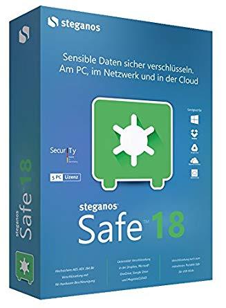 Steganos Safe 18 als kostenlose Vollversion