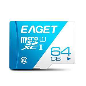 Eaget T1 UHS-I Micro SDXC Memory Card TF Card 100MB/s - 64GB
