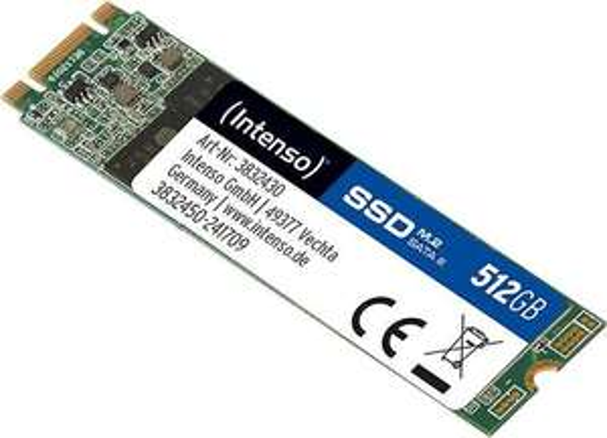 Intenso M.2 SSD SATA III Top 512GB [ MASTERPASS ]