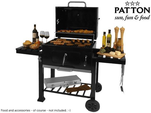 Tepro Toronto Holzkohlegrill Hagebau : Patton c2 holzkohle grill für eure gartenpartys mydealz.de