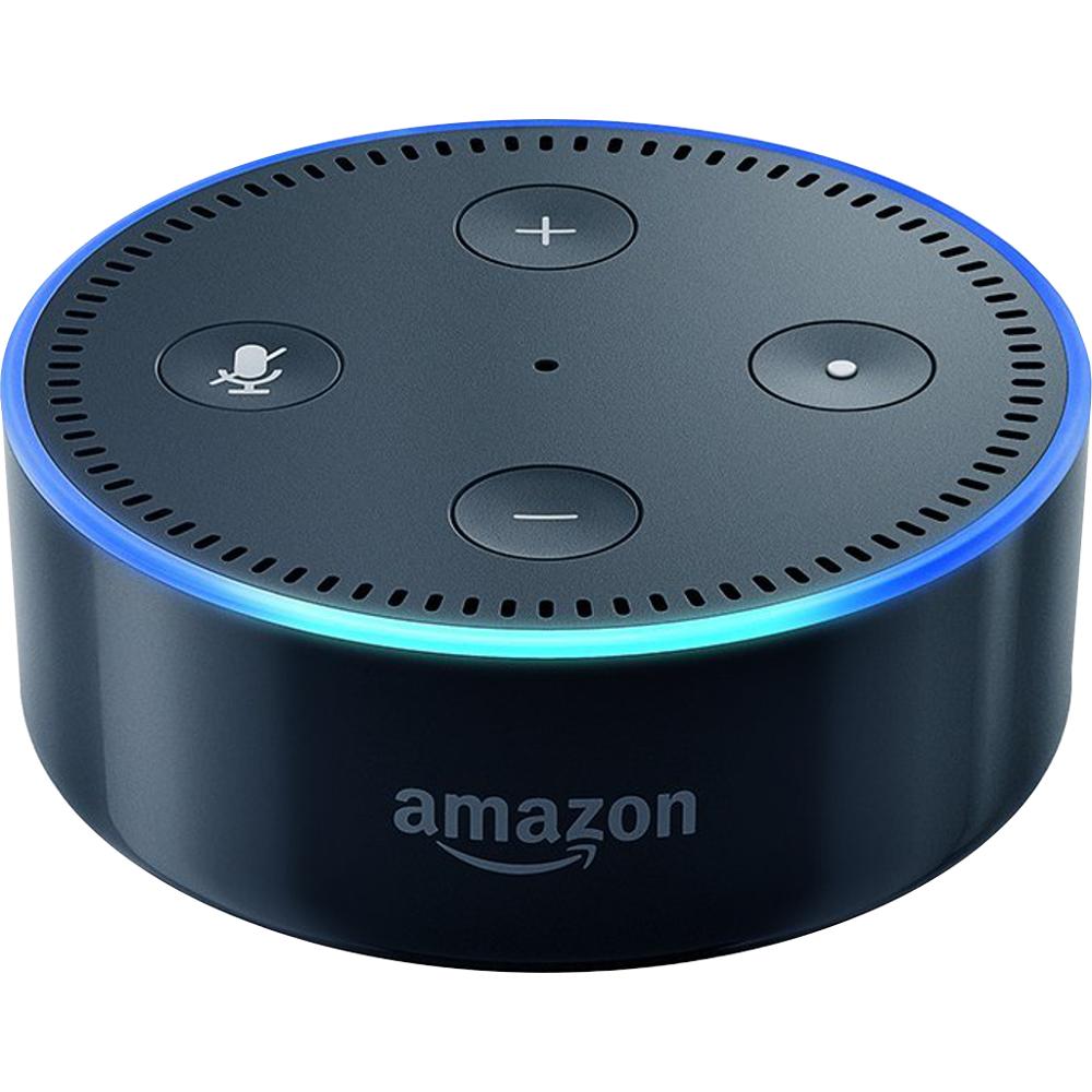 Amazon Echo Dot schwarz für 34,99 inkl. Versand auf smarthome.de