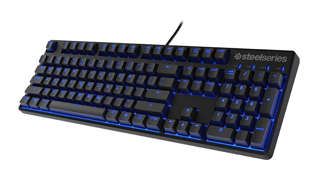 Steelseries Apex M500 GE - MX Red mechanische Gaming-Tastatur mit Cherry MX Red