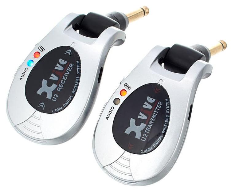 XVive Wireless System U2 (Kabelloses Gitarren-System bis zu 30m, Li-Ion-Akku bis zu 5h)