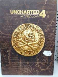 [Lokal] Uncharted 4 A Thiefs End Collector Lösungsbuch PS4