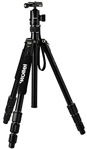 Rollei C5i Aluminium Kamera Stativ inkl. Kugelkopf und Stativtasche
