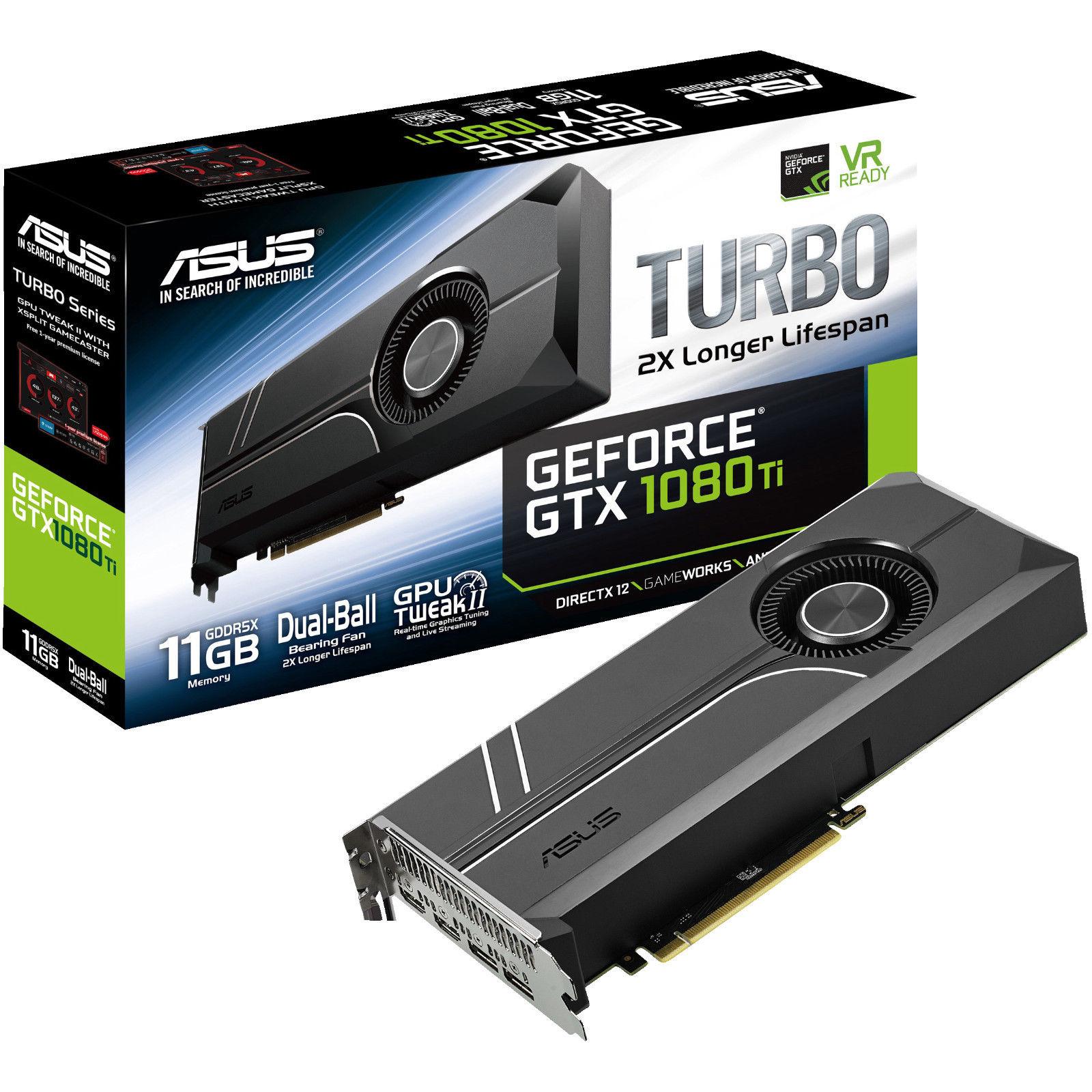 ASUS GeForce® GTX 1080 Ti 11GB für 649€ (eBay/MediaMarkt)
