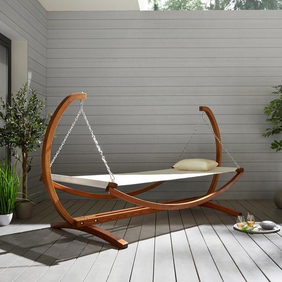 Relaxliege Sydney aus Lärchenholz für 66,33€ (Mömax Abholung)