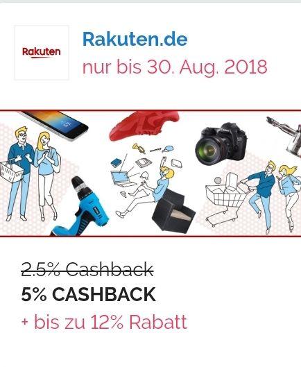 [Shoop] 5% Cashback bei Rakuten