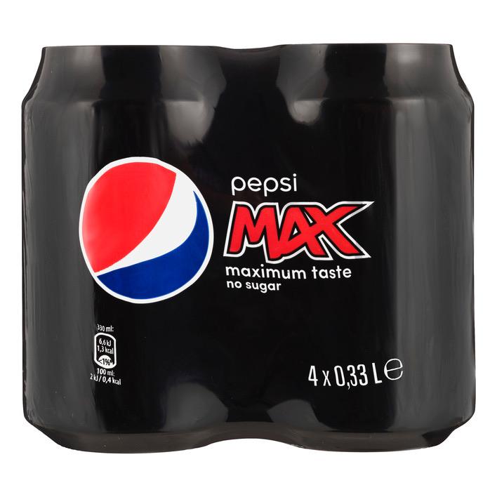 [Grenzdeal] Albert Heijn (NL) 4 Dosen Pepsi (Max)