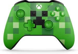 (Schweiz) Microsoft Xbox Wireless Controller Minecraft Creeper für 17,52€