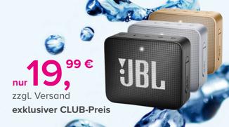 Tarifhaus Club JBL GO2 Bluetooth Lautsprecher