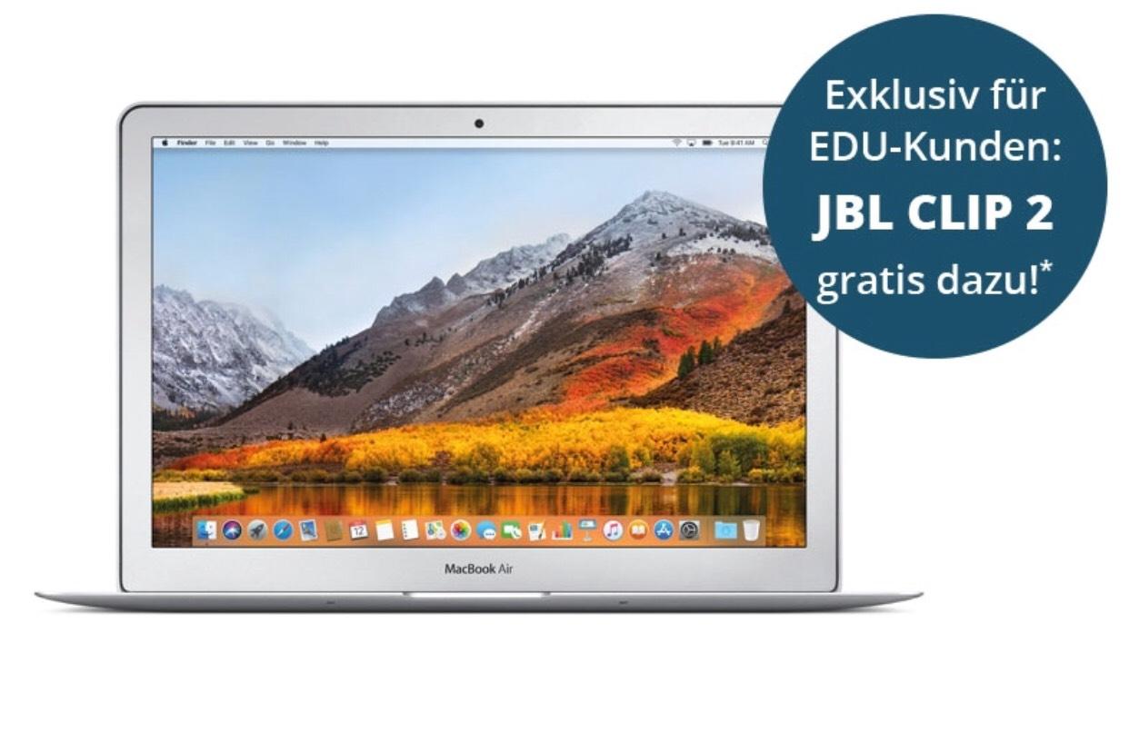 MacBook Air (2017) + JBL Clip gratis (Education Geschenk)