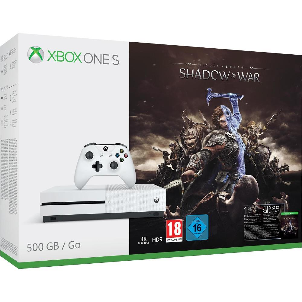 Xbox One S -  Mittelerde: Schatten des Krieges Bundle für 188€ (Expert Klein)
