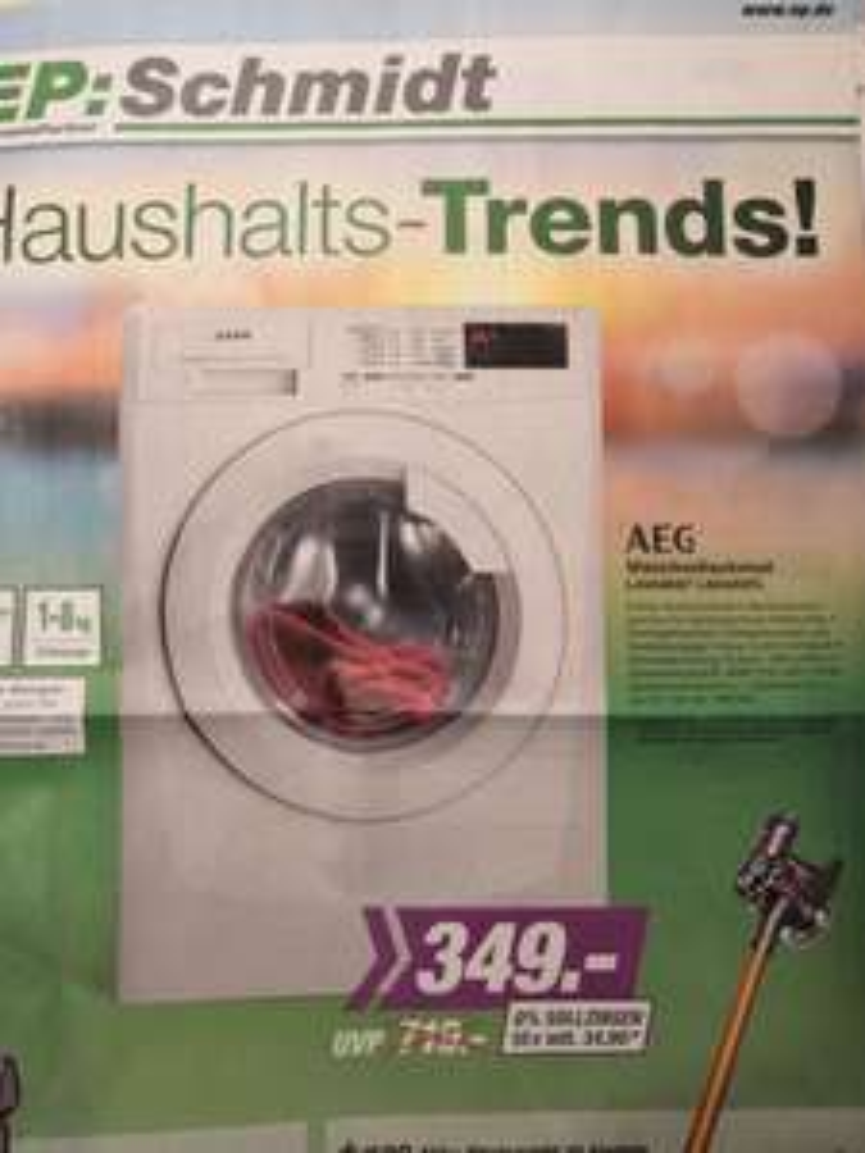 Waschmaschine AEG L68480FL