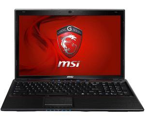 MSI GE60-i547W7H - Gaming-Notebook mit Intel Core i5 3210M, 4 GB Arbeitsspeicher und einer Nvidia GeForce GT 650M mit 2.048 MB Grafikspeicher