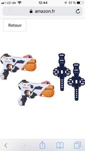 Amazon.fr Nerf Laser Ops Doppelpack