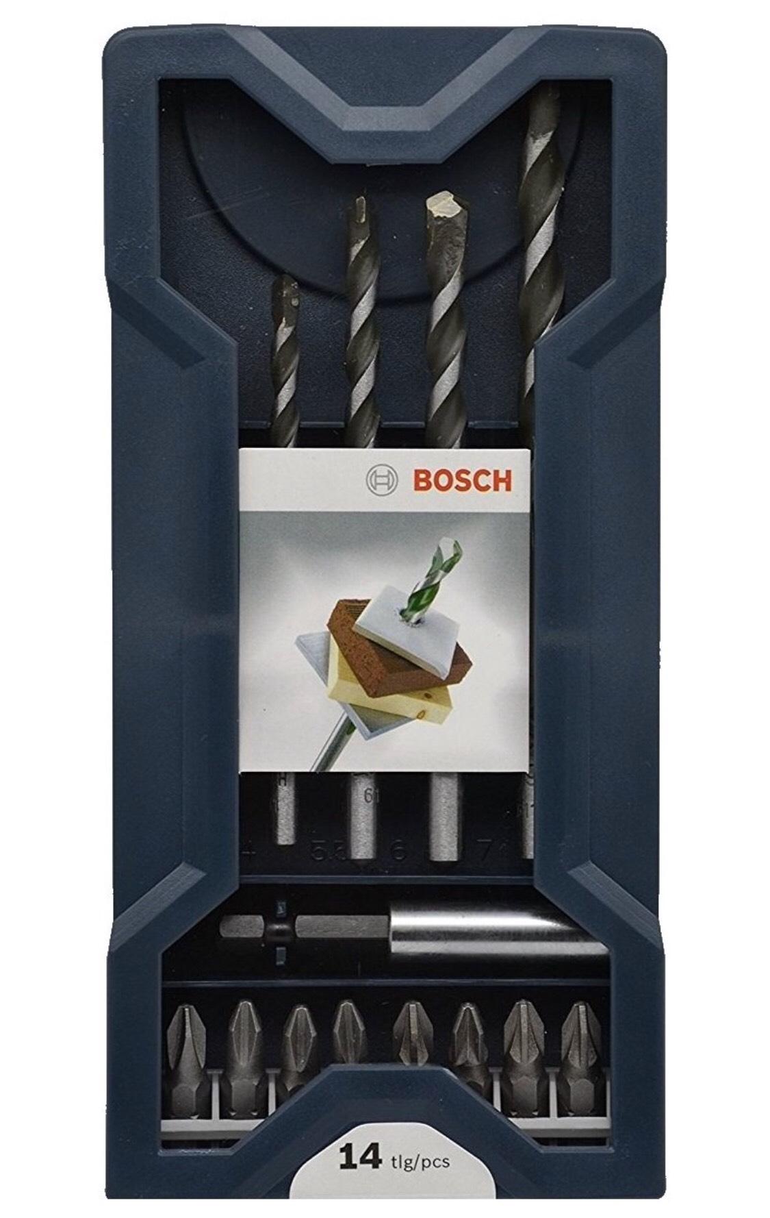 Bosch Professional Mehrzweckbohrer 14tlg DIY [Amazon Prime ]