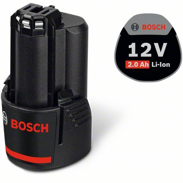 Bosch Blau Akkupack GBA 12/10,8 Volt, 2,0 Ah zzgl.4,90€ Versand ab 49€ Warenwert Versandfrei