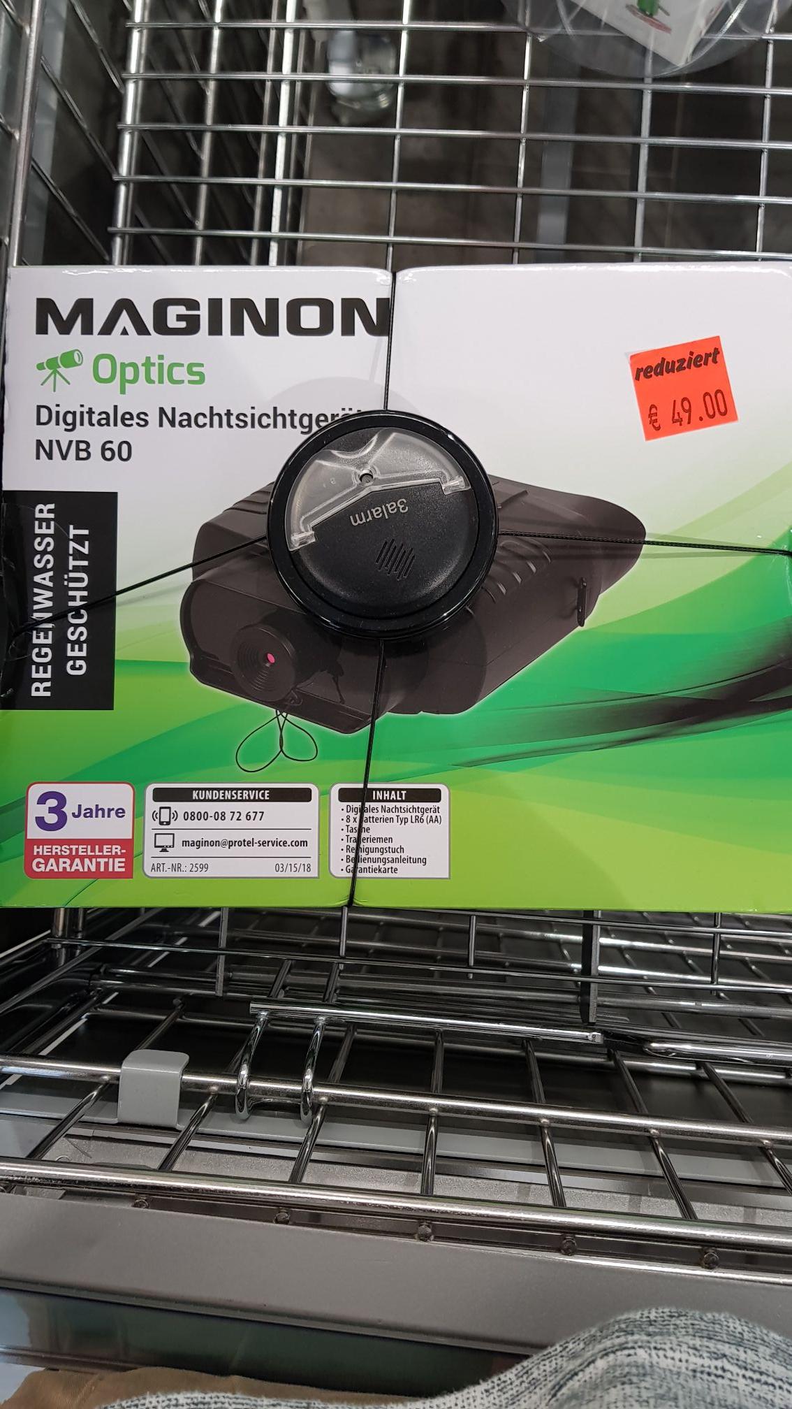 Maginon digitales Nachtsichtgerät  bei Aldi