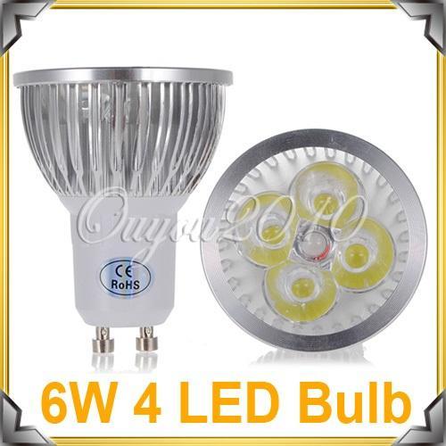 10 Stück GU10 LED/SMD Lampen 6w HighPower Warmweiß @ Ebay