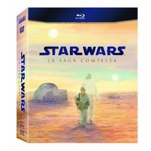 2 x Star Wars: The Complete Saga I-VI [Blu-ray] für ~84,50€ - alle Teile inkl. dt. Ton @Amazon.es