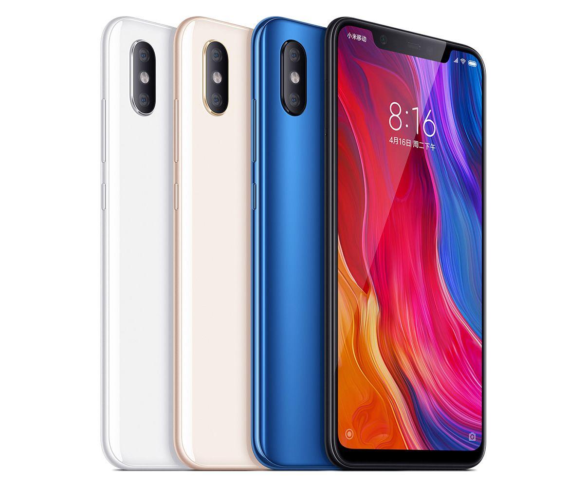 Xiaomi Mi 8 128/6GB | Versand aus EU Lager bei Tradingshenzhen!