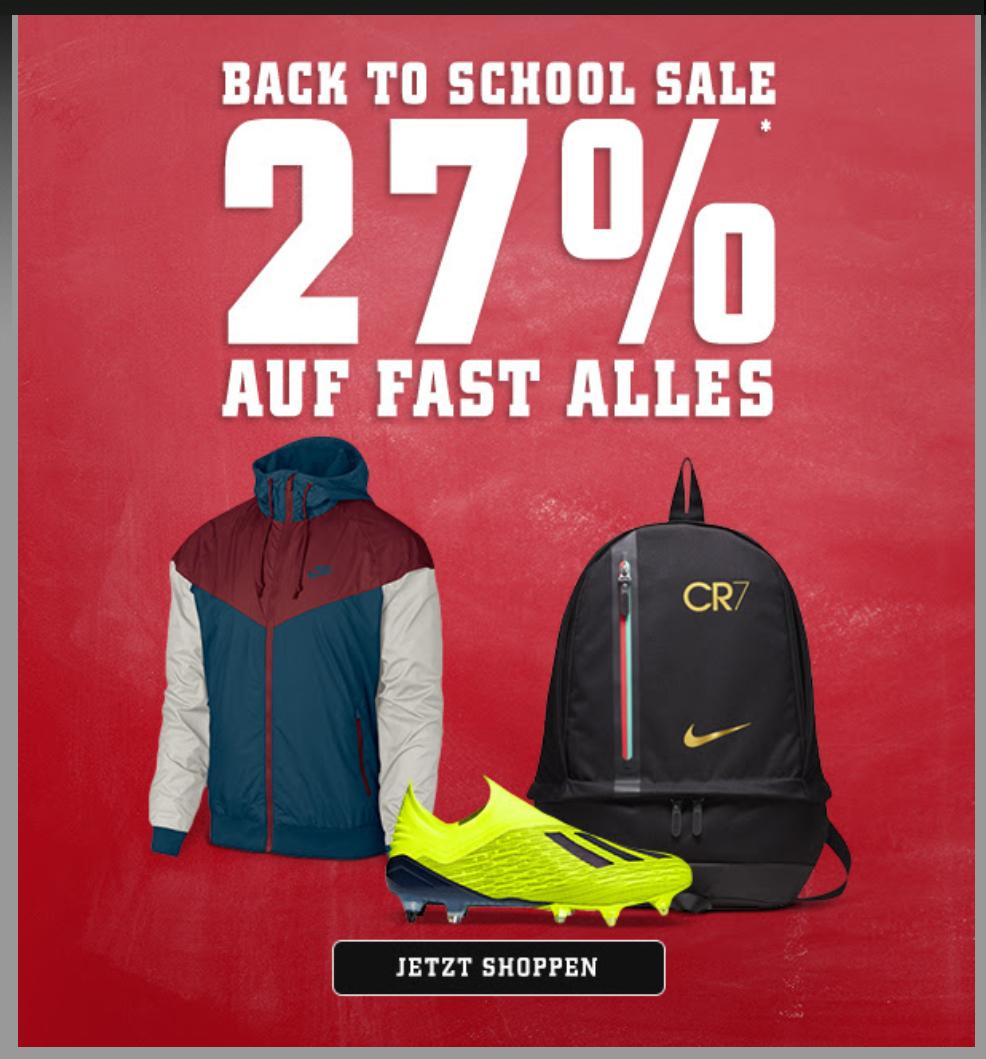 Soccerboots.de 27% Auf fast alles