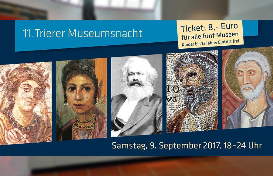 [Lokal Trier] Museumsnacht Trier - 5 Museen zu einem Preis am 08.09.18