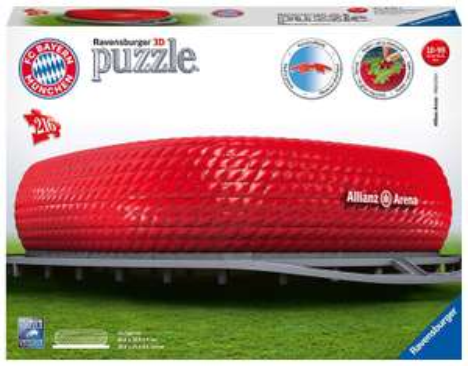 [Drogerie Müller] Ravensburger Puzzle - 3D Puzzles - Allianz Arena
