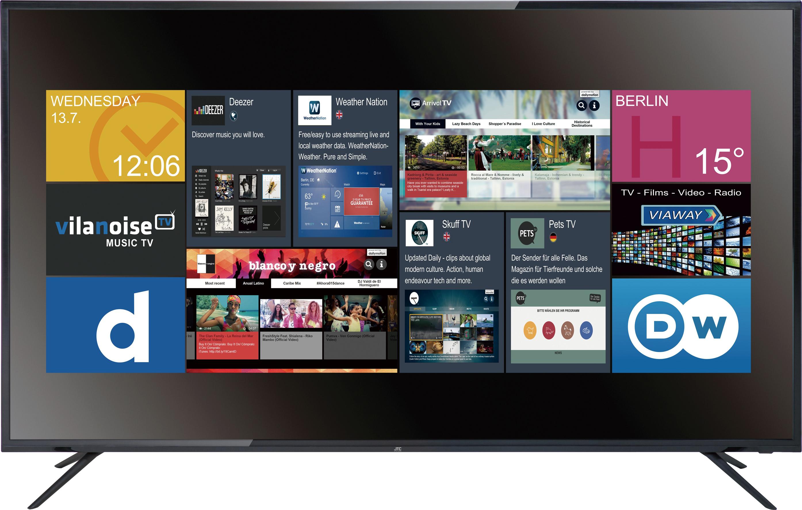 (REAL) JTC 139 cm (55 Zoll) UHD LED TV Atlantis 5.5 UHD SmartTV
