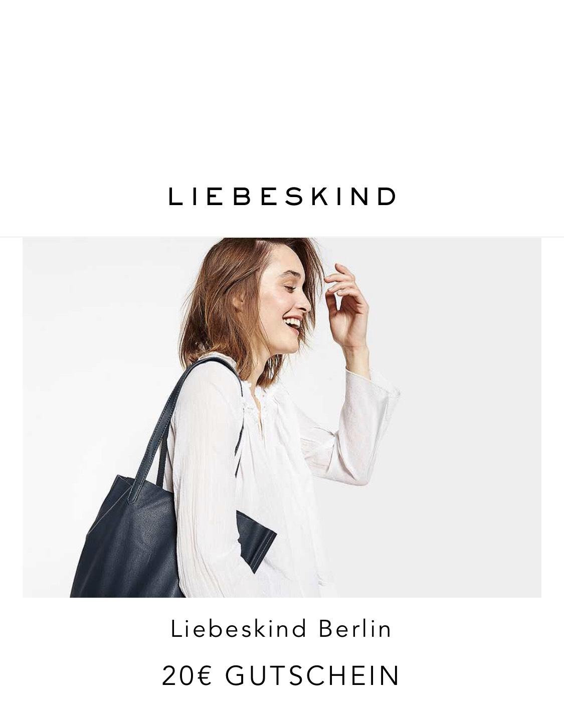 Bis zu 50% SALE bei LIEBESKIND BERLIN & 20€ Newsletter-Gutschein (80€ MBW)