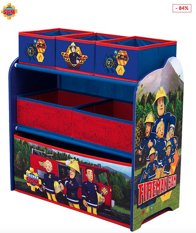 2 Feuerwehrmann Sam Regale fürs Kinderzimmer inkl. Versandkosten bei [Mytoys]
