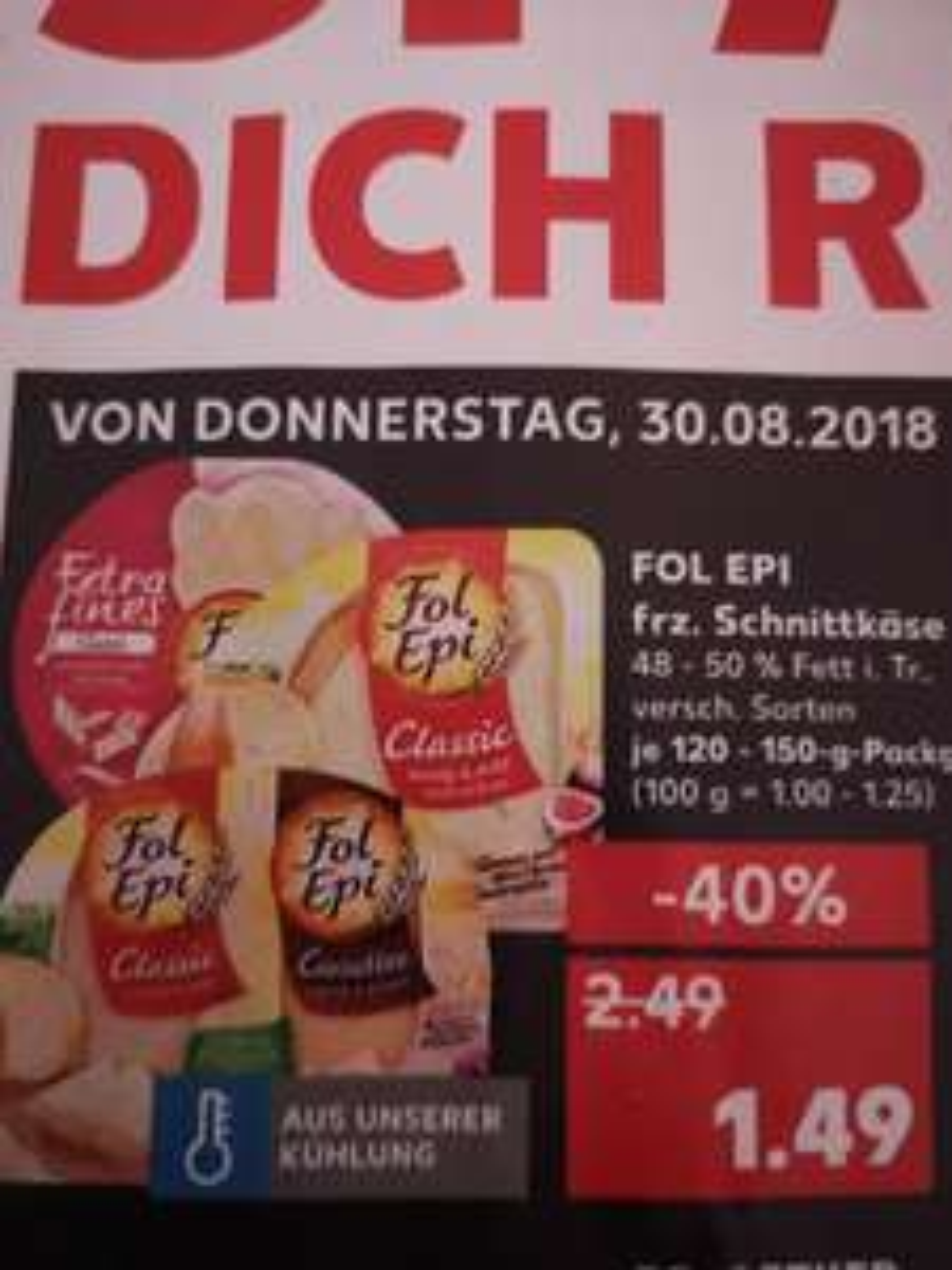 Kaufland - Fol Epi - Kracherpreis