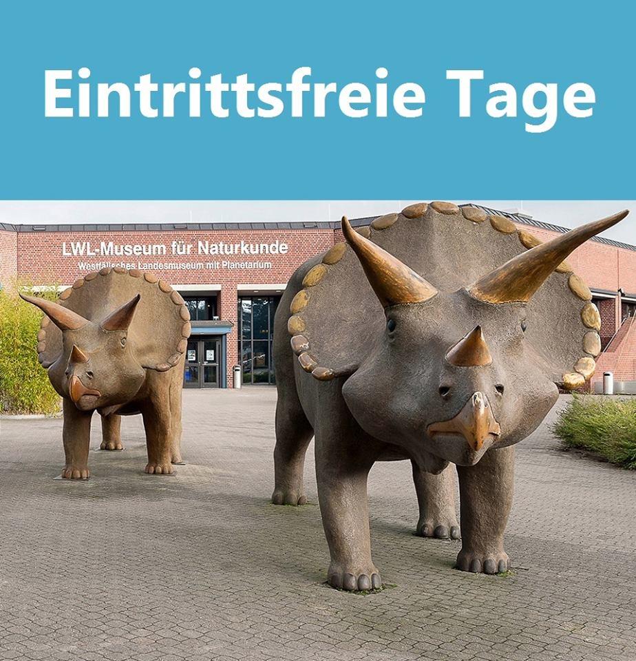 [lokal Münster] 7 Eintrittsfreie Tage im LWL-Museum für Naturkunde