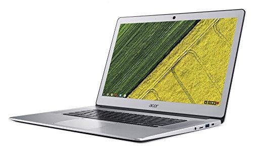 [Amazon] Acer Chromebook 15 (CB515-1HT-P58C) 39,6 cm (15,6 Zoll Full-HD IPS matt) Chromebook (Intel Pentium N4200 Quad-Core, 8GB RAM, 64GB eMMC, Intel HD, USB 3.1 Type-C, USB 3.0, QWERTZ, Chrome OS) silber, (Aluminium A- und C-Cover)