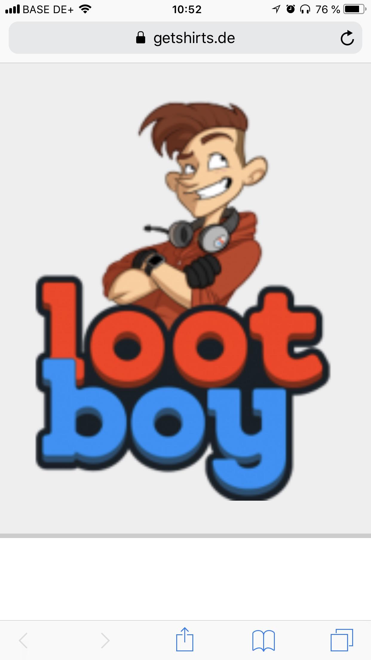 Gutschein-Code für den lootboy Shop
