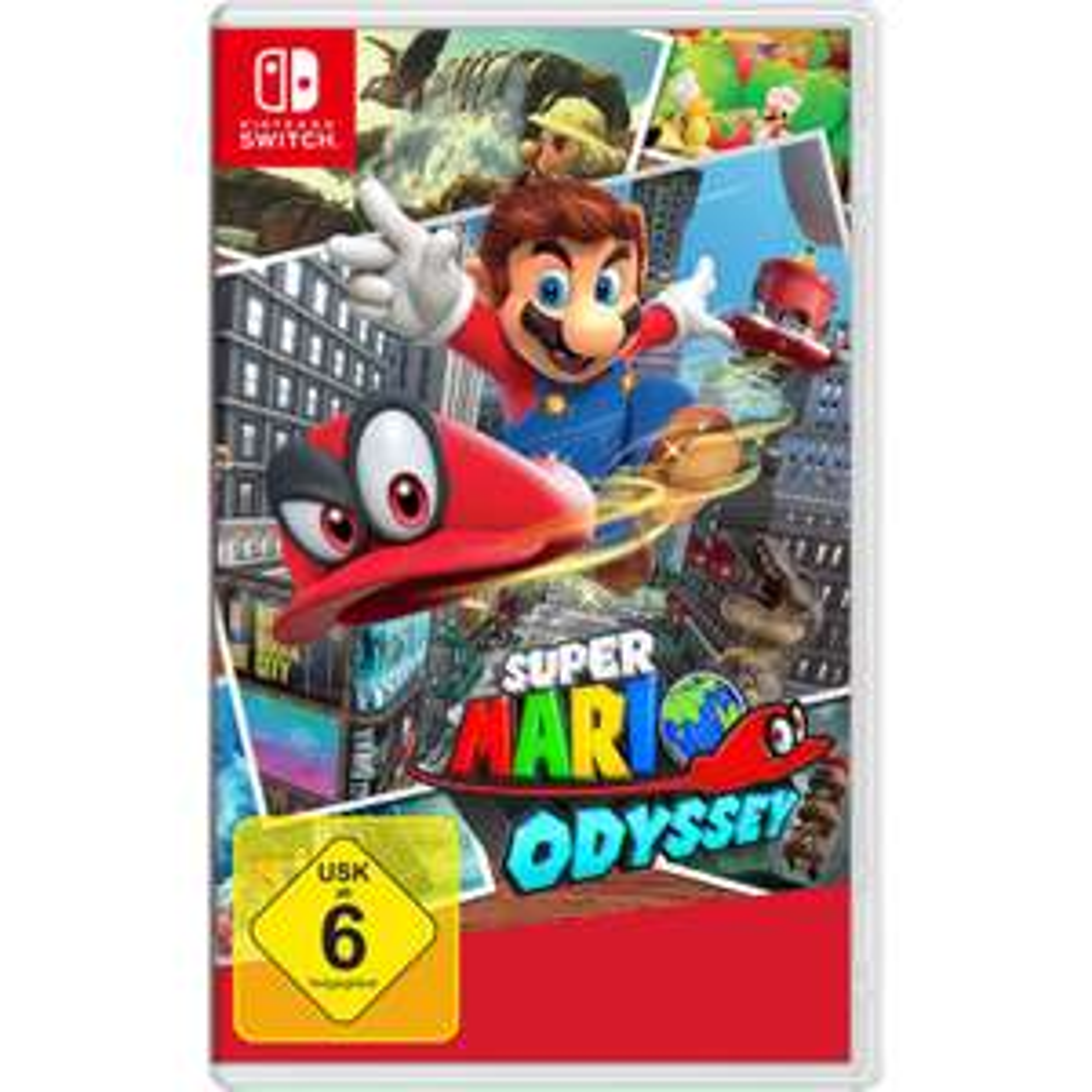 [Media Markt@eBay] Super Mario Odyssey (Nintendo Switch)