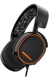 SteelSeries Arctis 5, Gaming-Headset, RGB-Beleuchtung, DTS 7.1 Surround für PC, PC/Mac / Playstation 4 / Android/iOS / VR, Farbe Schwarz