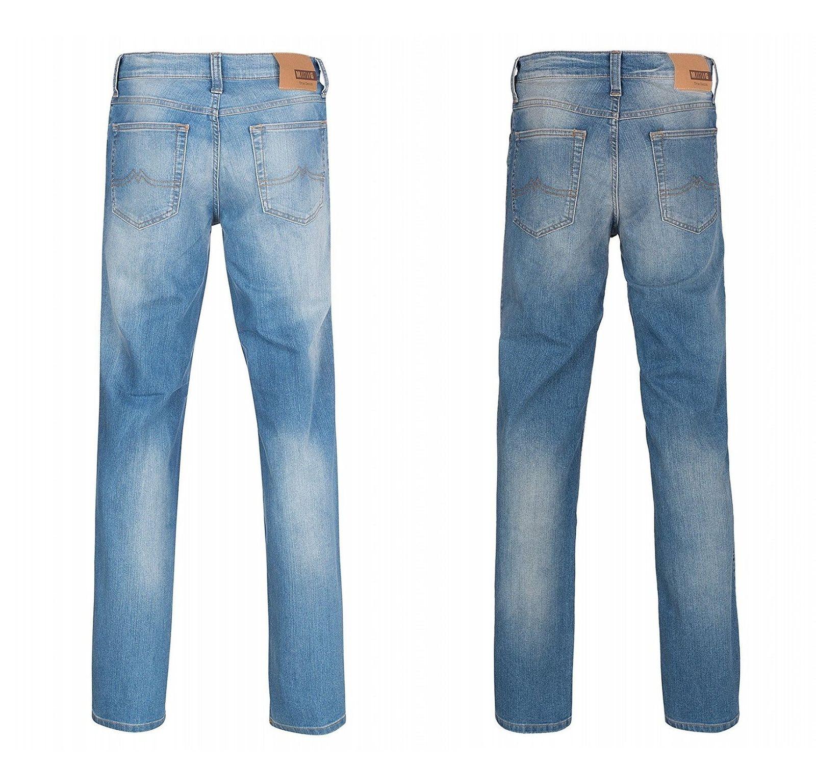 Mustang Oklahoma Straight Jeans stone washed - Angebot auf eBay
